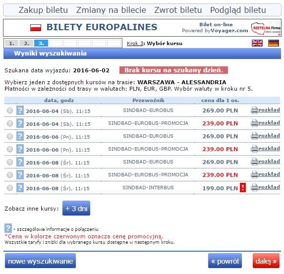 Bilety autokarowe Eurobus Polska Włochy