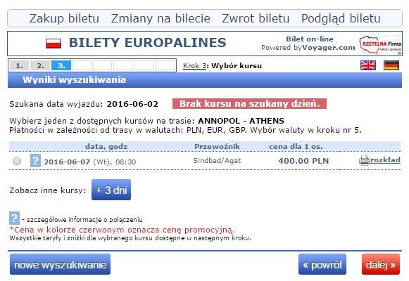 Bilety autokarowe Polska Grecja